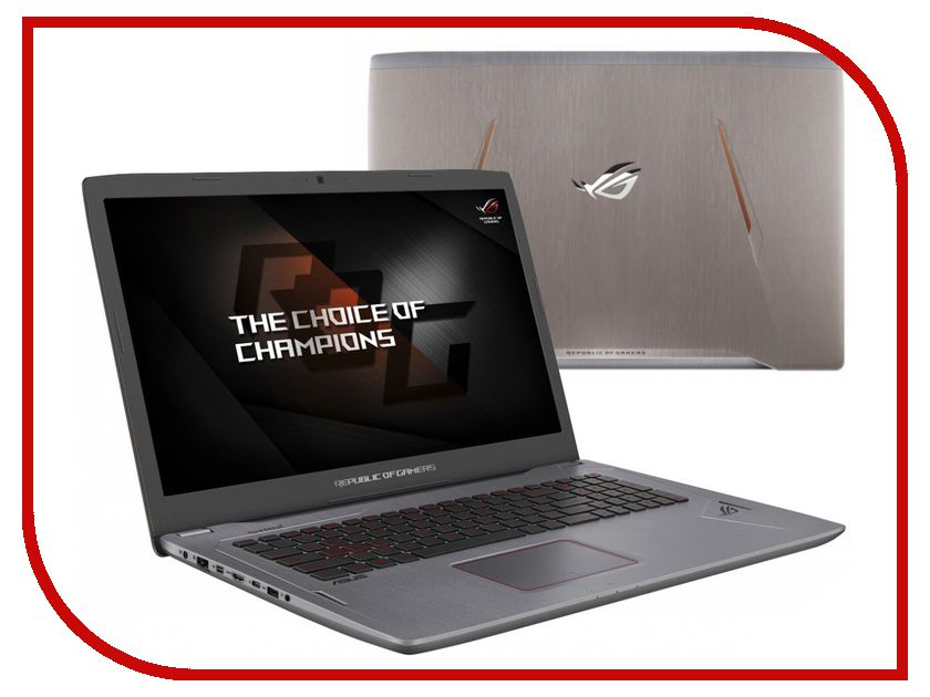 Zakazat.ru: Ноутбук ASUS GL702VM-BA323T 90NB0DQ3-M05140 (Intel Core i7-7700HQ 2.8 GHz/16384Mb/1000Gb + 256Gb SSD/No ODD/nVidia GeForce GTX 1060 6144Mb/Wi-Fi/Bluetooth/Cam/17.3/1920x1080/Windows 10 64-bit)