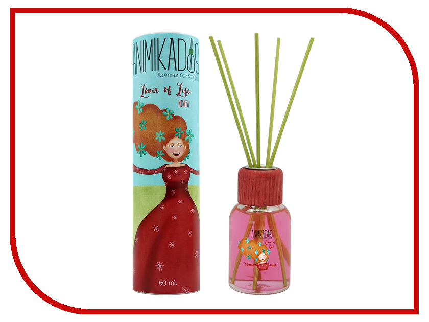 Благовоние Ambientair Lover of Life Animikados 50ml MK050AHAMGB благовоние ambientair absolutely fabulous animikado vv007rgamgb
