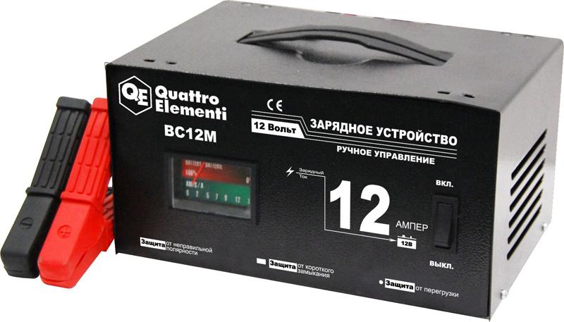 Устройство Quattro Elementi BC 12M 770-094 зарядноеустройство quattroelementi 770 094 bc12m 12в 12а