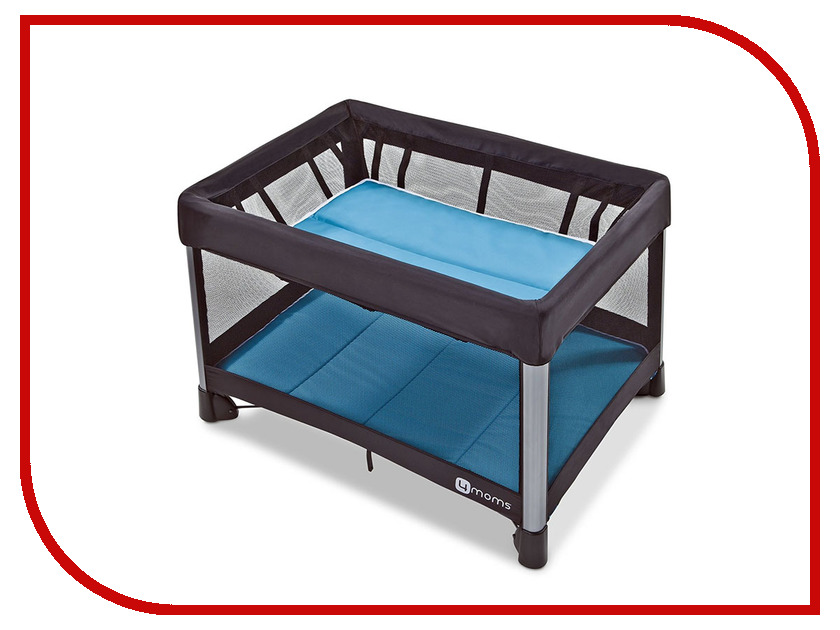 Манеж-кровать 4moms Breeze Blue igloo island breeze 28 цвет blue