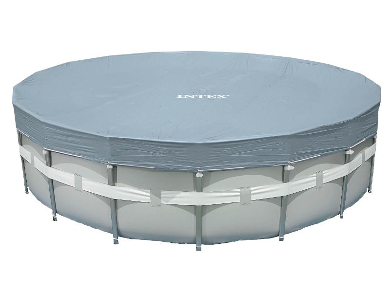 Тент Intex Ultra Frame 549cm 28041 бассейн каркасный intex 28310 ultra frame 427х107см