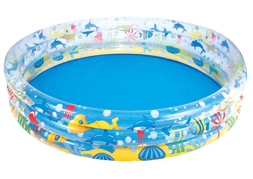Детский бассейн BestWay Подводный мир 152x30cm 51004