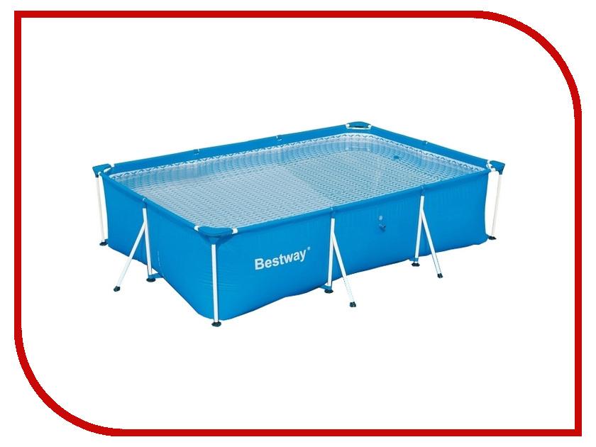 Бассейн Bestway Deluxe Splash Frame 56404/56043 бассейн каркасный bestway 56404 прямоугольный 300х201х66 см
