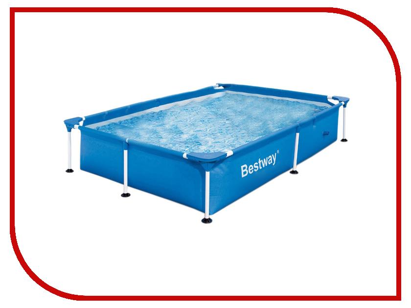 Бассейн BestWay 221x150x43cm 56401 каркасный бассейн bestway 221х150х43см прямоугольный 56401 bw