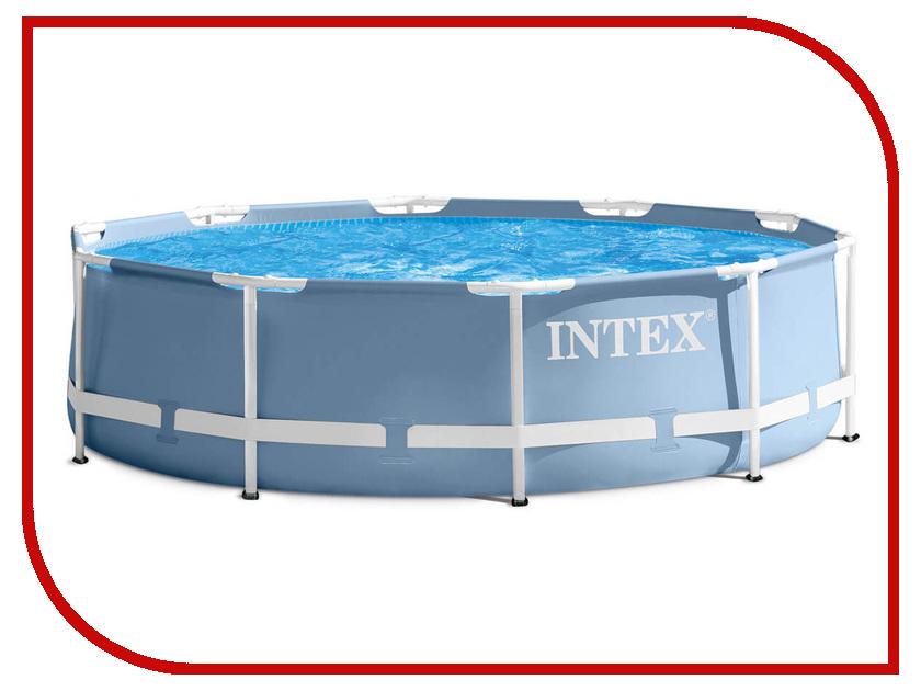 Бассейн Intex Prism Frame 366x76cm 28712 матрасы для плавания intex лодка 58394np