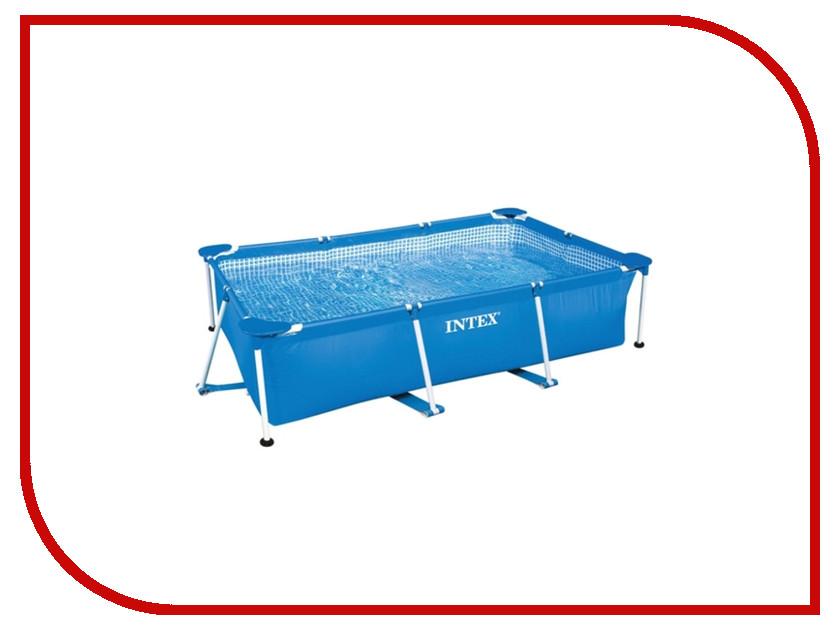 Бассейн Intex Rectangular Frame 300x200x75cm 28272 бассейн каркасный 300х200х75 см intex 28272