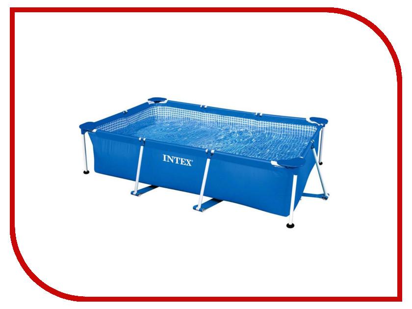 Бассейн Intex Rectangular Frame 220x150x60cm 28270 бассейн каркасный intex 28271 28271np rectangular frame 260х160х65см