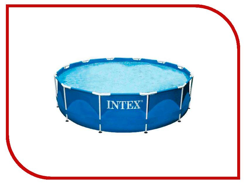 Бассейн Intex Metal Frame 366x76cm 28210 вода черноголовская детская артезианская с рождения 5 л