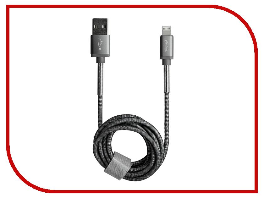 Аксессуар Partner USB - Lightning 1.2m Grey ПР037723