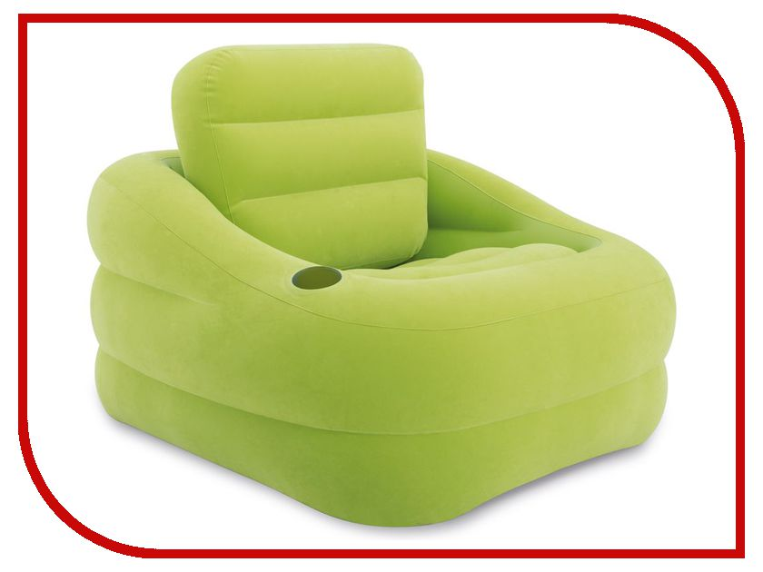 Надувное кресло Intex Accent Chair - Lime 97x107x71cm 68586