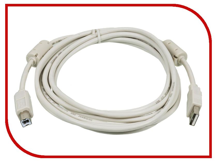 Аксессуар Ningbo USB - USB 3m Grey USB2.0-AM/BM-3M-MG все цены