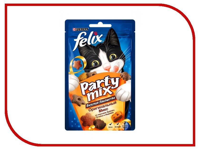 лакомство b&b allegro cat колбаски курица печень для кошек 6шт 36450 Лакомство Felix Party Mix Оригинальный микс Курица Печень Индейка 20g для кошек 12237745
