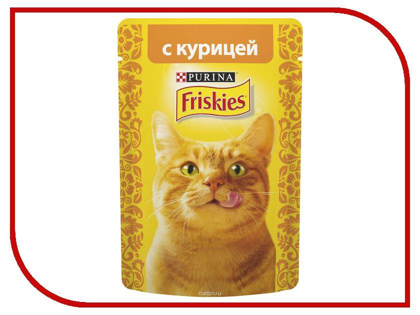 Корм Friskies Adult Кусочки курицы в подливе 85g для кошек 12261850