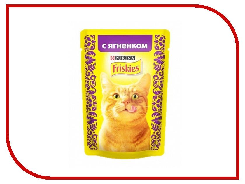 Корм Friskies Adult Кусочки ягненка в подливе 85g для кошек 12261837