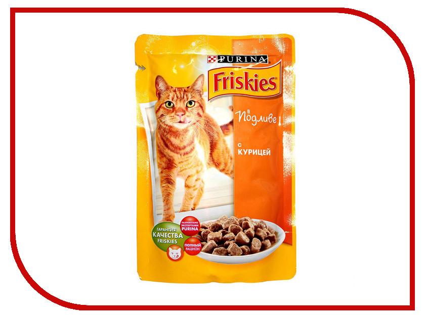 Корм Friskies Adult Кусочки курицы в подливе 100g для кошек 12227658