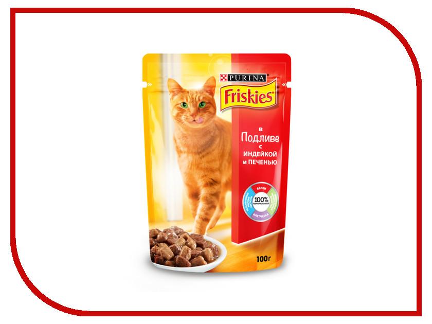 Корм Friskies Adult Индейка с Печенью 100g для кошек 12227707