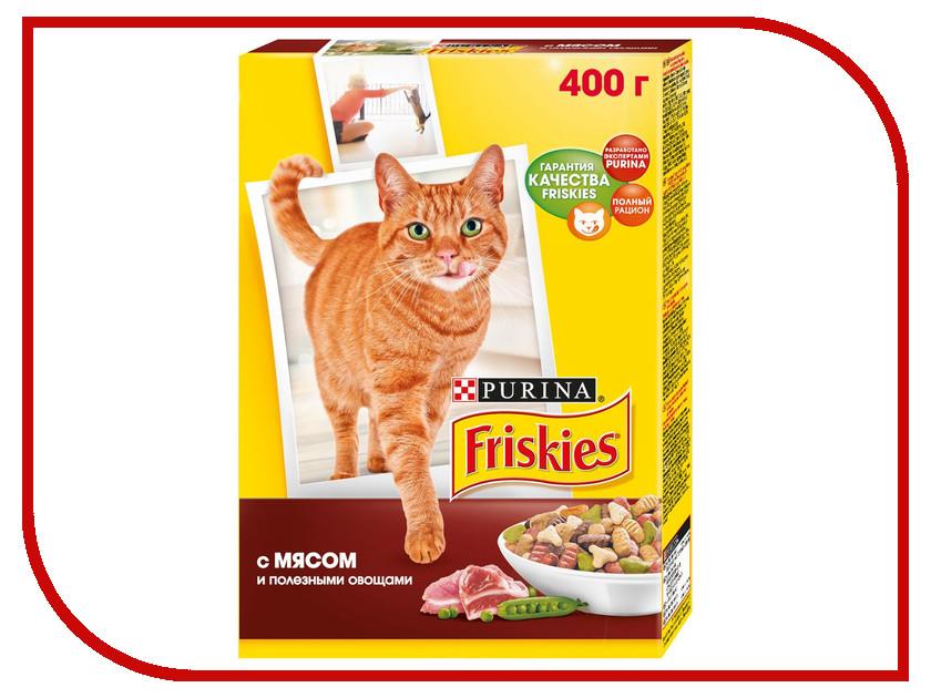 Корм Friskies Adult Мясо и Овощи 400g для кошек 12152613 friskies adult 2
