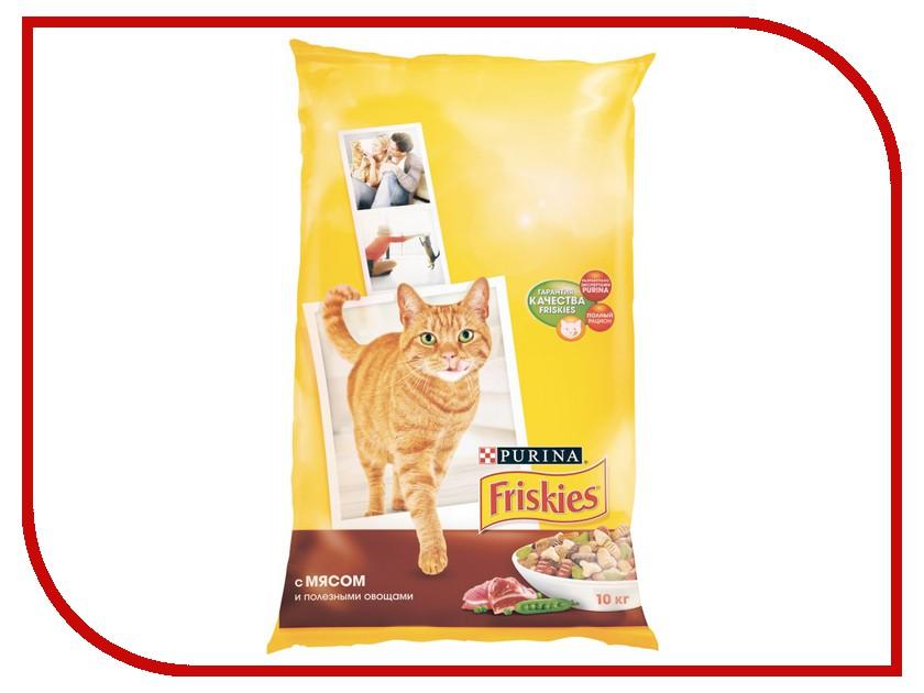 Корм Friskies Adult Мясо с полезными овощами 10kg для кошек 12053617 купить бутылки декоративные с овощами