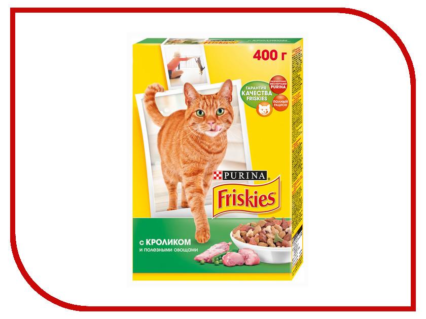 Корм Friskies Adult Кролик с полезными овощами 400g для кошек 12152610 купить бутылки декоративные с овощами