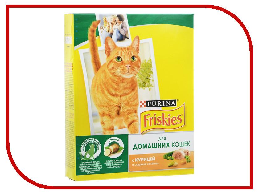 Корм Friskies Indoor 300g для домашних кошек 12274332 корм сухой ontario adult indoor для домашних кошек с цыпленком 400 г