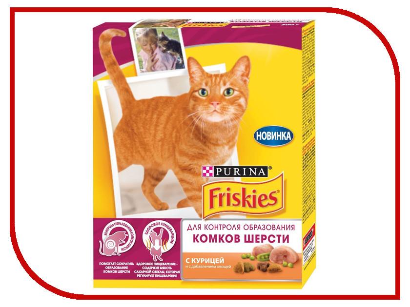 Корм Friskies Hairball Курица 300g для кошек Вывод Шерсти 12261251 корм для кошек friskies курица в подливе