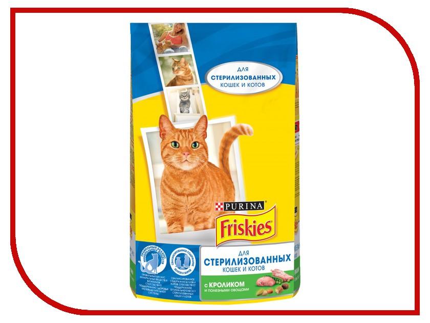 Корм Friskies Кролик и Овощи 1.5kg для стерилизованных кошек 12274319 корм сухой для кошек friskies с мясом печенью и зелеными овощами 10 кг