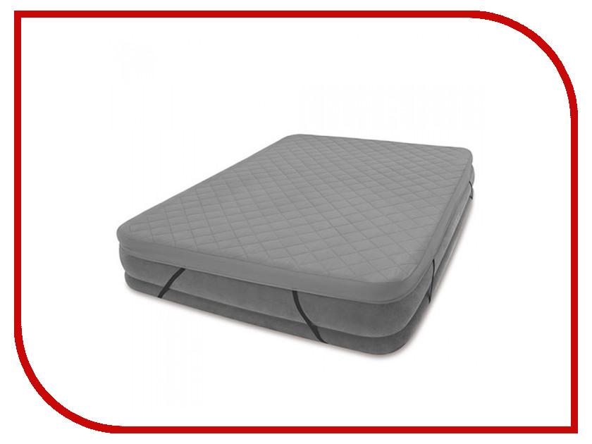 Наматрасник Intex 152x203cm 69643 кровать comfort plush 152х203х56см со встроенным насосом 220в intex 64418