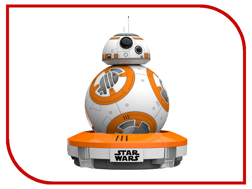 Sphero R001SRW BB-8 Special Edition с браслетом Force Band робошар sphero ollie darkside