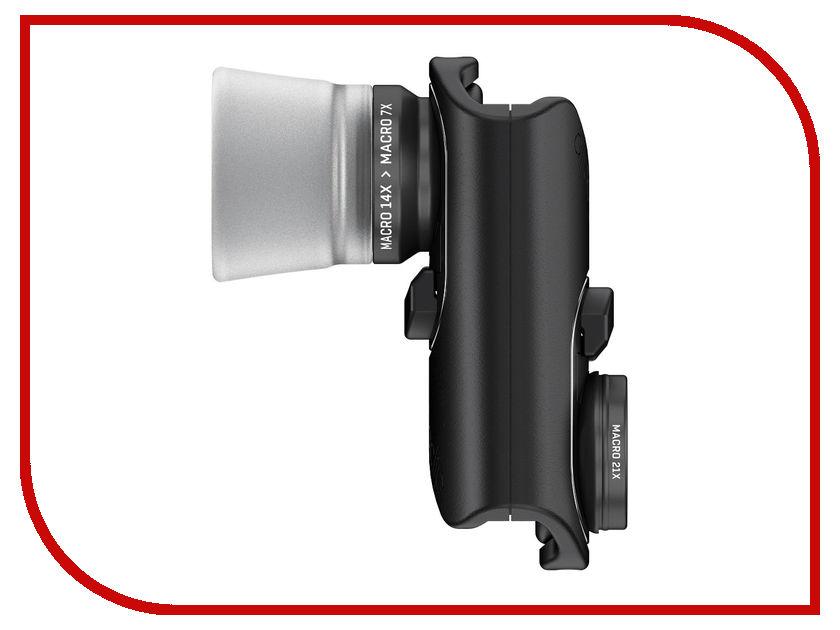 Аксессуар Объектив Olloclip Macro Pro для iPhone 7/7 Plus OC-0000214-EU Black aukey detachable autofocus olloclip iphone telephoto lens