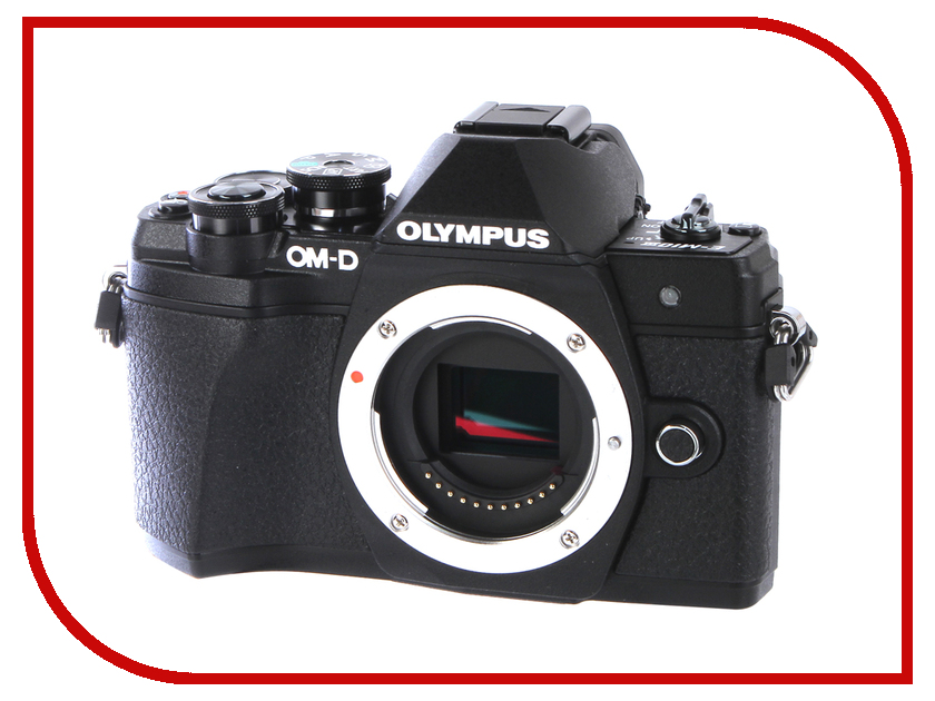 Фотоаппарат Olympus OM-D E-M10 Mark III Body Black цифровой фотоаппарат со сменной оптикой olympus om d e m10 mark ii kit double zoom black