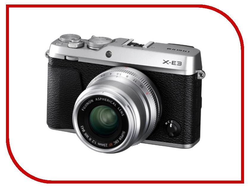 Фотоаппарат Fujifilm X-E3 Kit фотоаппарат системный премиум fujifilm x е3 kit 18 55mm black