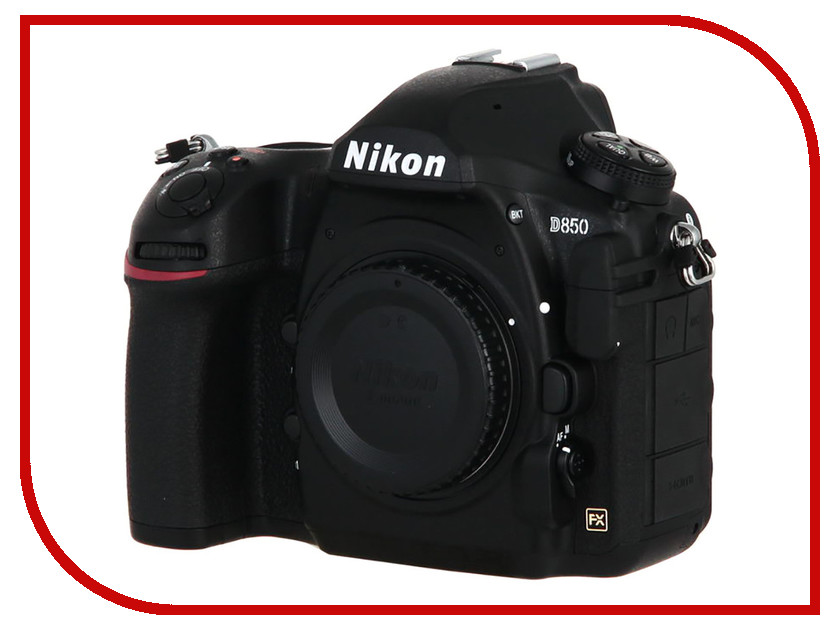 Фотоаппарат Nikon D850 Body зеркальный цифровой фотоаппарат nikon d610 body