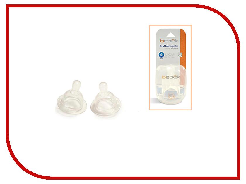 Соски силиконовые Bebek Proflow 4202
