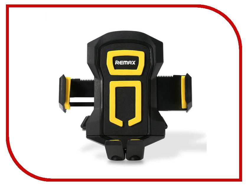 Держатель Remax RM-C14 Black-Yellow аксессуар remax 3 5mm share jack cable rm 000199