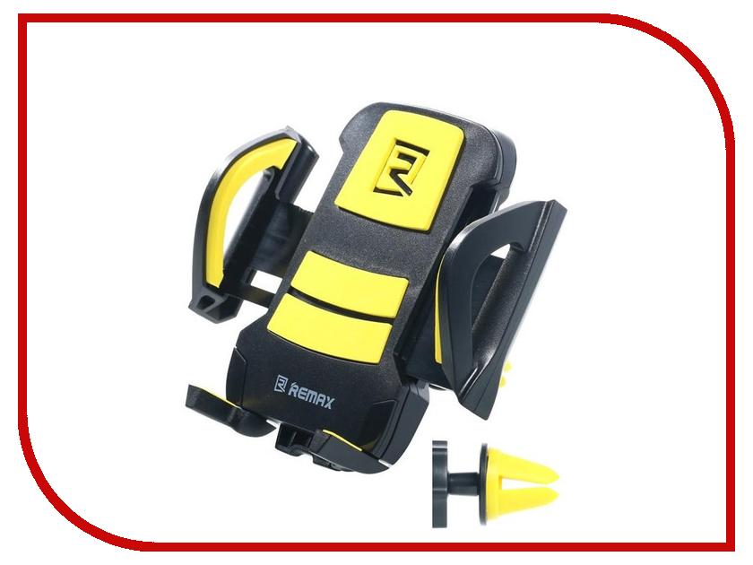 Держатель Remax RM-C13 Black-Yellow чехол для сотового телефона samsung galaxy s8 clear cover black ef qg950cbegru