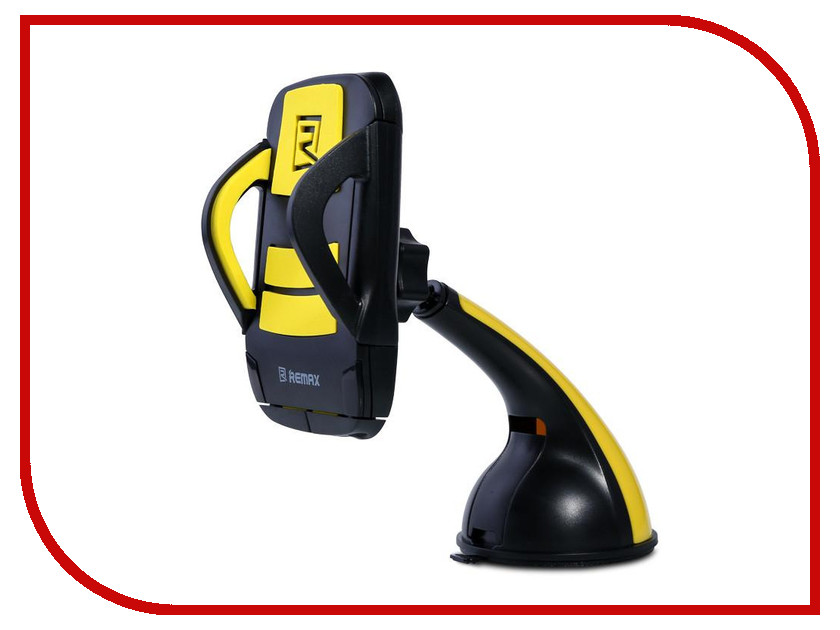 Держатель Remax RM-C04 Black-Yellow держатель remax rm c10 white turquose