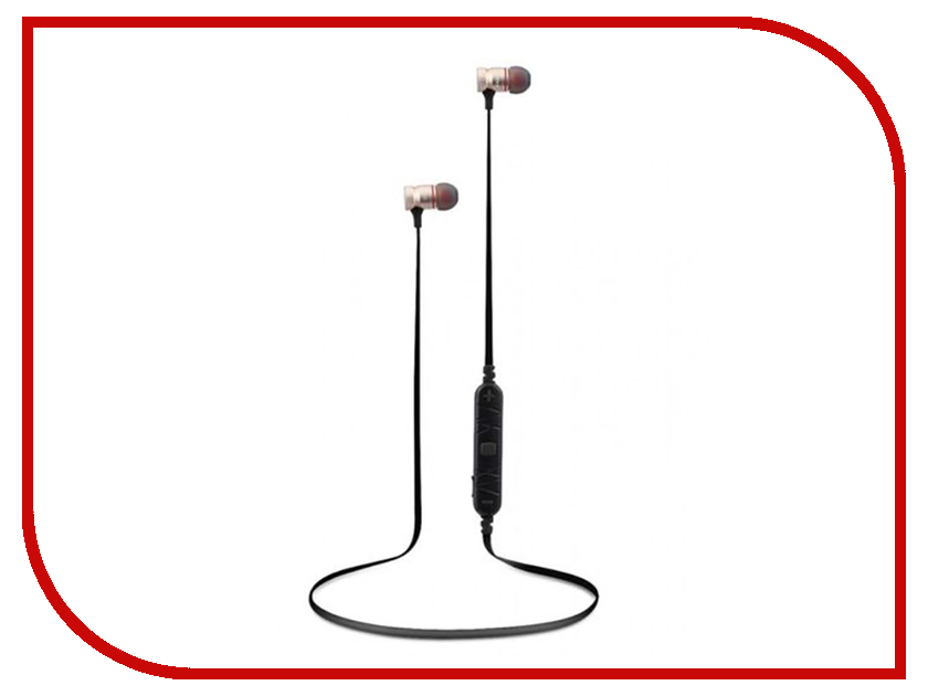 Awei A920BL Gold awei a860bl sport bluetooth earphones with mic gold