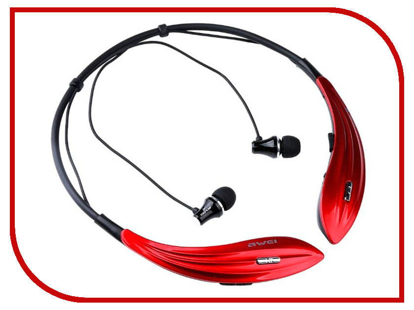 Awei A810BL Red awei q5i in ear earphones with mic red