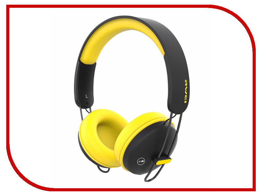 Awei A800BL Black-Yellow awei a860bl red