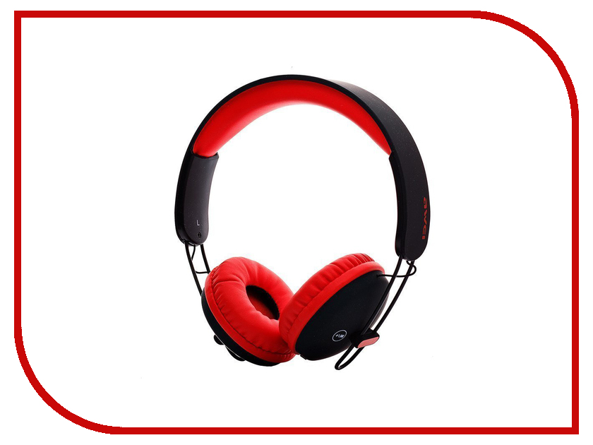 Awei A800BL Red-Black гарнитура awei a980bl black
