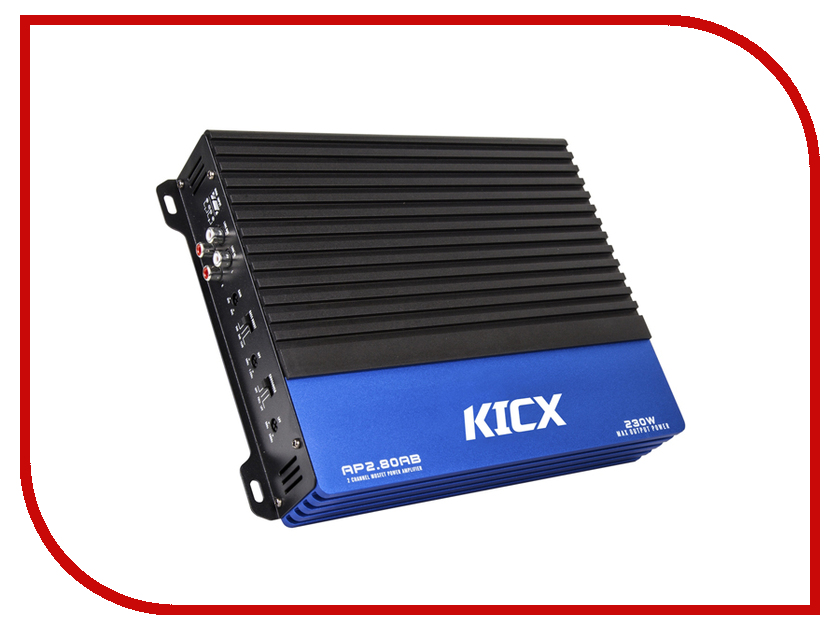 Усилитель Kicx AP 2.80AB kicx ap 4 120ab