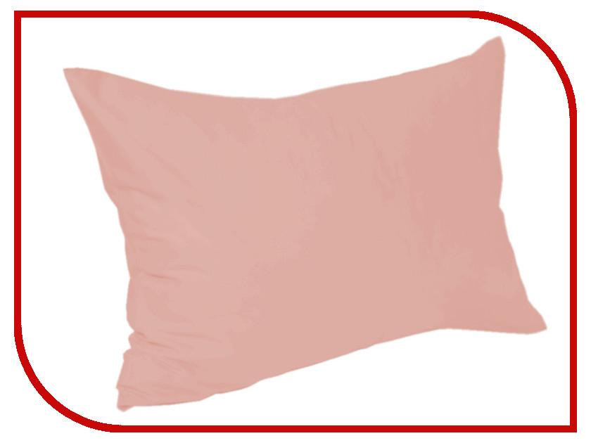 Наволочка Valtery 110-55 50x70 Pink Сатин