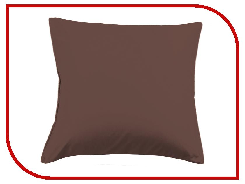 Наволочка Valtery 100-3A 70x70 Chocolate Сатин