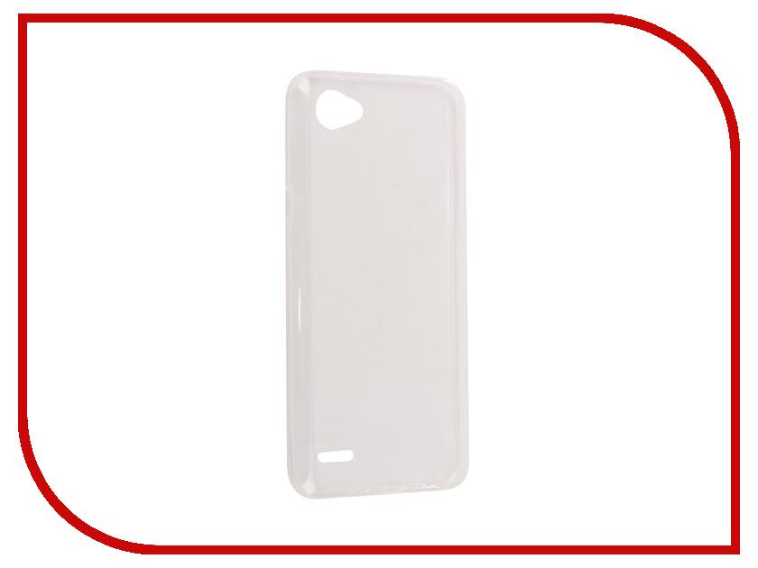 Аксессуар Чехол-накладка LG Q6 SkinBox Slim Silicone Transparent T-S-LQ6-006 аксессуар чехол накладка huawei mate 10 skinbox slim silicone transparent t s hm10 006