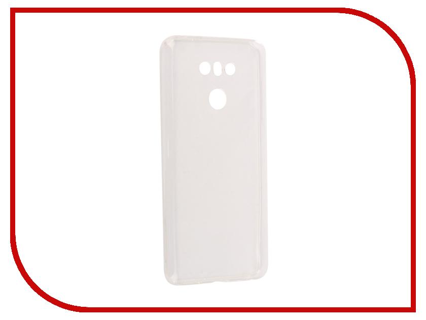 Аксессуар Чехол-накладка LG G6 SkinBox Slim Silicone Transparent T-S-LG6-005 аксессуар чехол накладка samsung galaxy a3 2017 skinbox silicone chrome border 4people silver t s sga32017 008