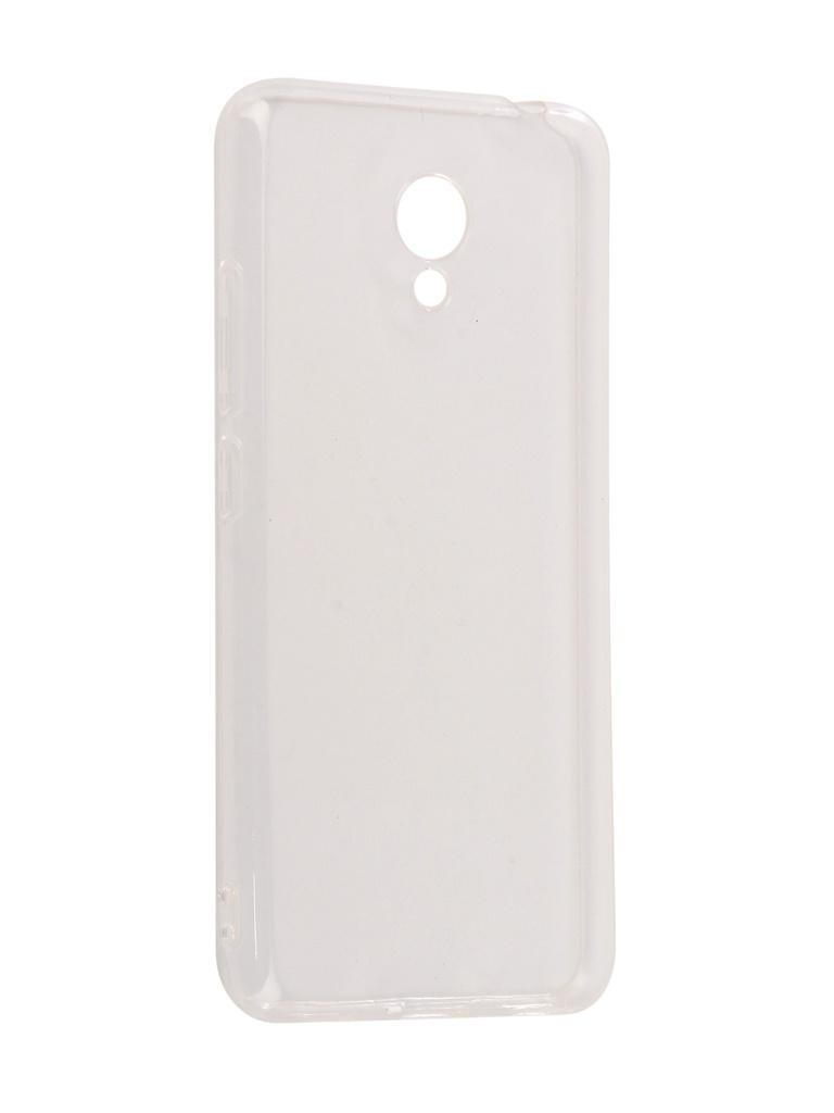 Аксессуар Чехол SkinBox для Meizu M5C Slim Silicone 4People Transparent T-SMM5C-005 skinbox meizu mx5 skinbox slim silicone 4people для meizu mx5