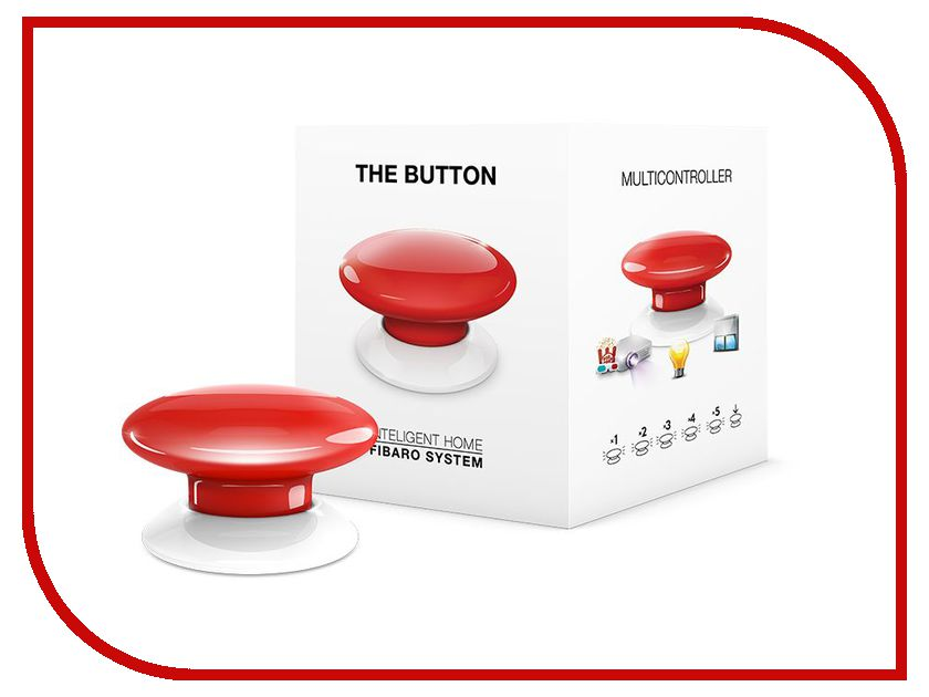 Пульт ДУ Fibaro The Button FIB_FGPB-101