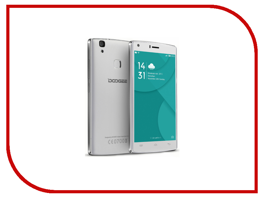 Сотовый телефон DOOGEE X5 Max Pro White сотовый телефон archos sense 55dc 503438