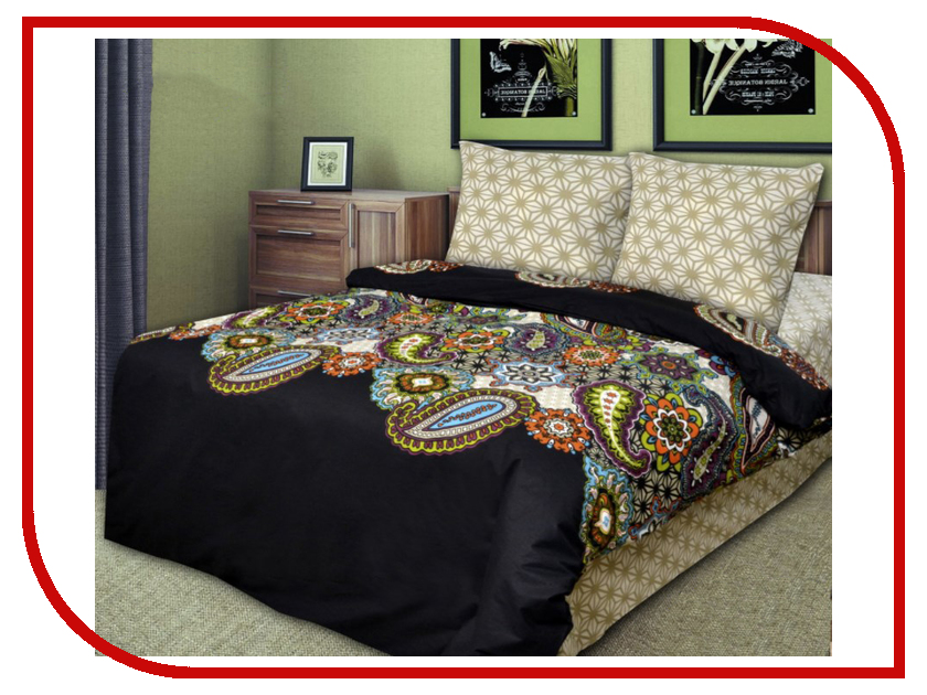Постельное белье Хлопковый Рай Шарм Комплект 2 спальный Бязь
