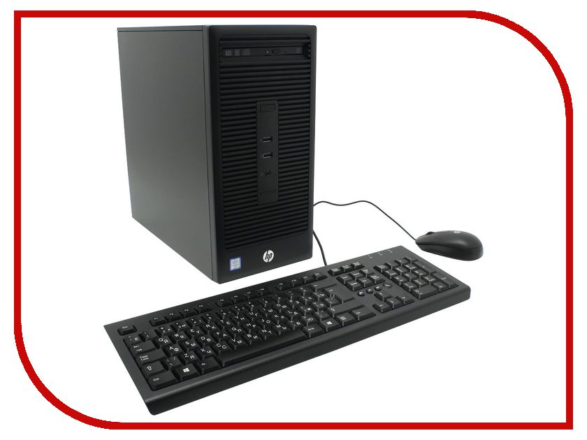 Настольный компьютер HP 280 G2 Microtower W4A48ES (Intel Core i3-6100 3.7 GHz/4096Mb/1000Gb/DVD-RW/Intel HD 530/LAN/Windows 10 Pro) цена 2017
